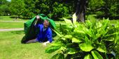 Jevan Watkins Jones - studying plants