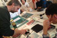 Art class with Jevan Watkins Jones