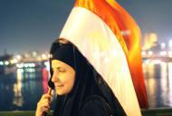 Image from the Egyptian Revolution (detail) by Myriam Abdelaziz, 2011