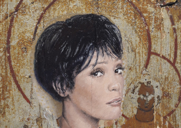Whitney Houston (detail), Robert Priseman