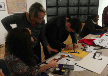 Banner making workshop