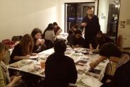 Jevan art class Nov 27th, 2013