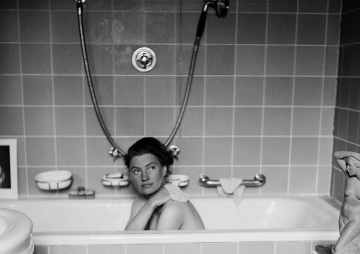 Lee Miller in Hitler's bath, 1945, detail. Lee Miller with David E Scherman @ Lee Miller Archives, England,2013. All rights reserved,