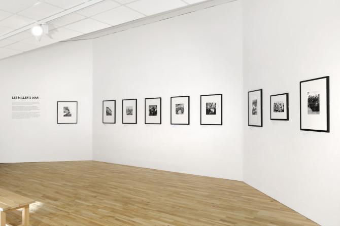Lee Miller installation 1