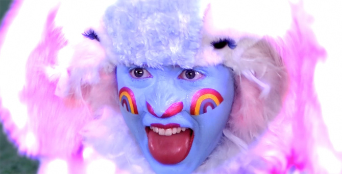 Rachel Maclean - Over The Rainbow, 2013 (detail)