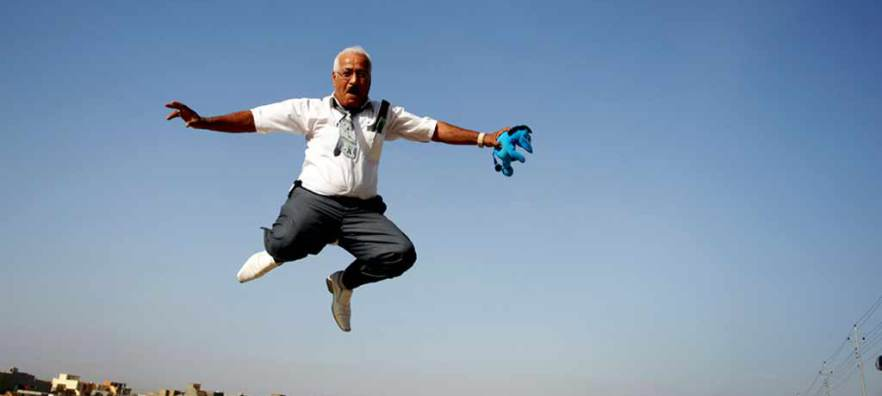 Jamal Penjweny, Iraq Is Flying, 2010 (detail)