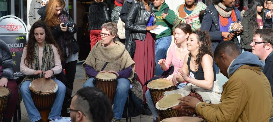 Street Drumming