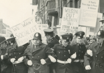 Harold Wilson Honorary Degree protest