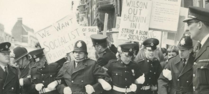 Harold Wilson Honorary Degree protest