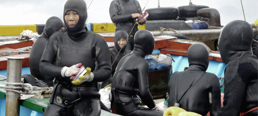 Mikhail Karikas. Seawomen. 2012