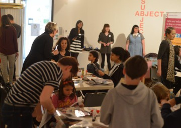Family Days at Art Exchange
