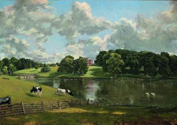 Wivenhoe Park, 1816, John Constable
