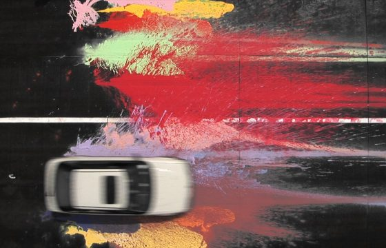 George Barber, Automative Action Painting