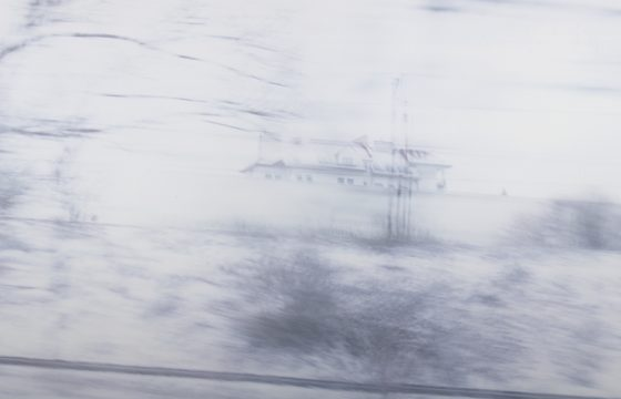 Ori Gersht. White Noise 02 (detail)